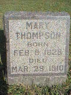 THOMPSON, MARY - Fremont County, Iowa | MARY THOMPSON