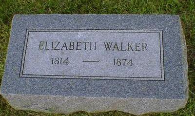WALKER, ELIZABETH - Fremont County, Iowa | ELIZABETH WALKER