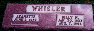 WHISLER, BILLY - Fremont County, Iowa | BILLY WHISLER