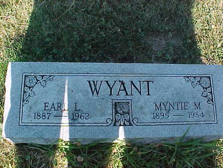 WYANT, EARL L. - Fremont County, Iowa | EARL L. WYANT