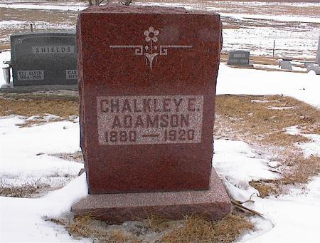 ADAMSON, CHALKLEY - Greene County, Iowa | CHALKLEY ADAMSON