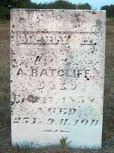 RATCLIFF, MARY A. - Greene County, Iowa   MARY A. RATCLIFF
