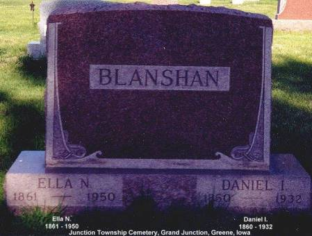 MACK BLANSHAN, ELLA NANCY - Greene County, Iowa | ELLA NANCY MACK BLANSHAN