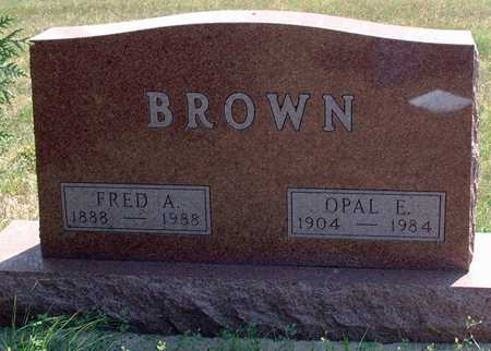 BROWN, FRED - Greene County, Iowa | FRED BROWN