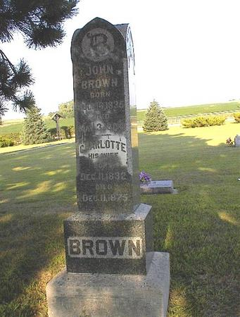 BROWN, CHARLOTTE - Greene County, Iowa | CHARLOTTE BROWN