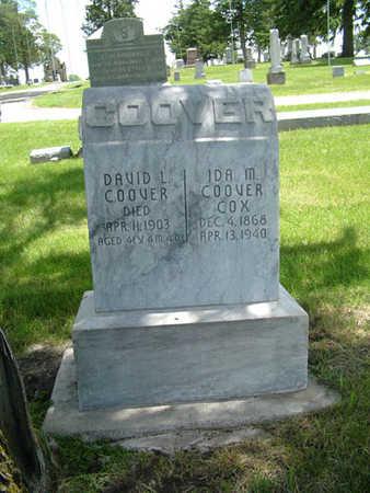 COOVER, DAVID L. - Greene County, Iowa | DAVID L. COOVER