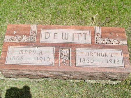 DEWITT, MARY A. - Greene County, Iowa | MARY A. DEWITT
