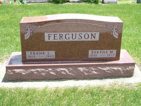 FERGUSON, BERTHA - Greene County, Iowa | BERTHA FERGUSON