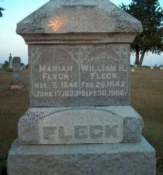 FLECK, WILLIAM H. - Greene County, Iowa | WILLIAM H. FLECK