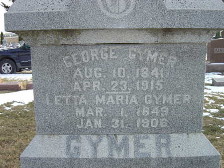 GYMER, GEORGE - Greene County, Iowa | GEORGE GYMER