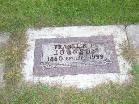 JOHNSON, FRANKLIN H. - Greene County, Iowa | FRANKLIN H. JOHNSON