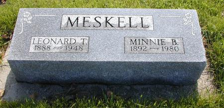MESKELL, MINNIE - Greene County, Iowa | MINNIE MESKELL