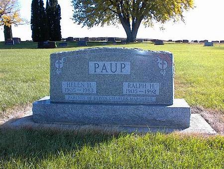PAUP, HELEN H - Greene County, Iowa | HELEN H PAUP