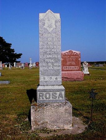 ROSA, ELIZABETH A. - Greene County, Iowa | ELIZABETH A. ROSA