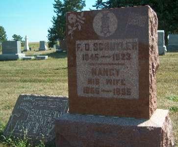 SCHUYLER, F.D. - Greene County, Iowa | F.D. SCHUYLER