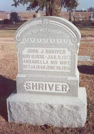 SHRIVER, JOHN J. - Greene County, Iowa | JOHN J. SHRIVER