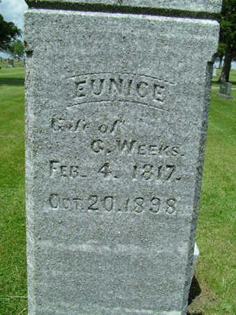 GRIST WEEKS, EUNICE - Greene County, Iowa | EUNICE GRIST WEEKS
