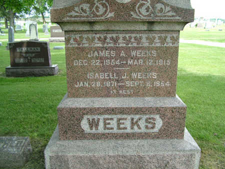 WEEKS, JAMES A. - Greene County, Iowa | JAMES A. WEEKS