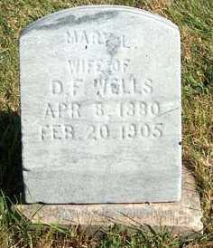 WELLS, MARY L. - Greene County, Iowa | MARY L. WELLS