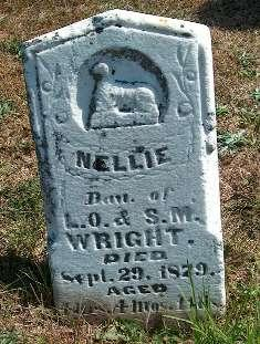 WRIGHT, NELLIE - Greene County, Iowa | NELLIE WRIGHT