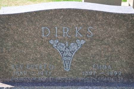 DIRKS, EVERT O., REV. - Grundy County, Iowa | EVERT O., REV. DIRKS