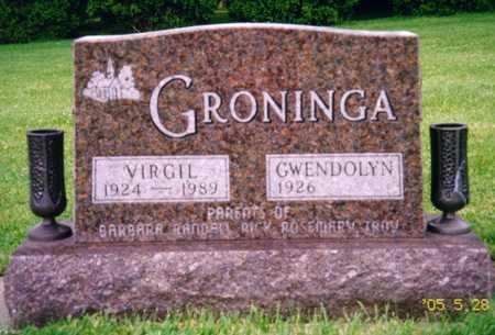 GRONINGA, VIRGIL - Grundy County, Iowa | VIRGIL GRONINGA