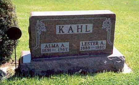KAHL, LESTER AMOS - Grundy County, Iowa | LESTER AMOS KAHL