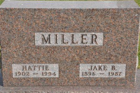 MILLER, HATTIE - Grundy County, Iowa | HATTIE MILLER