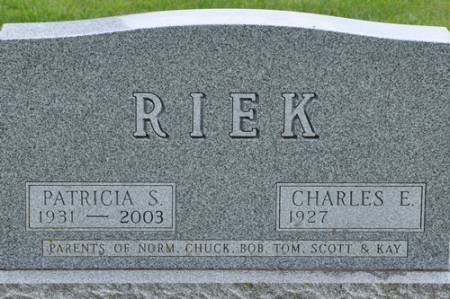 RIEK, PATRICIA (GRAHAM) - Grundy County, Iowa | PATRICIA (GRAHAM) RIEK