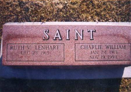 SAINT, CHARLIE WILLIAM - Grundy County, Iowa | CHARLIE WILLIAM SAINT