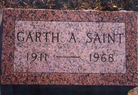 SAINT, GARTH A. - Grundy County, Iowa | GARTH A. SAINT