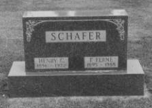 SCHAFER, HENRY C. - Grundy County, Iowa | HENRY C. SCHAFER