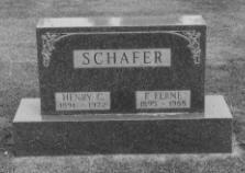 SCHAFER, HENRY C. - Grundy County, Iowa | HENRY C. SCHAFER