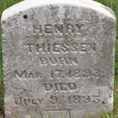 THIESSEN, HENRY - Grundy County, Iowa | HENRY THIESSEN