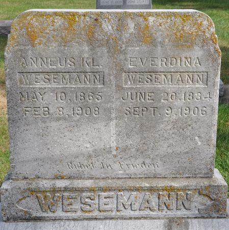 WESEMANN, ANNEUS KL. - Grundy County, Iowa | ANNEUS KL. WESEMANN