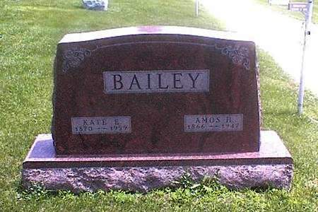 BAILEY, KATE E. - Guthrie County, Iowa | KATE E. BAILEY