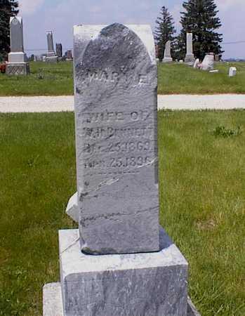 BENNETT, MARY - Guthrie County, Iowa | MARY BENNETT