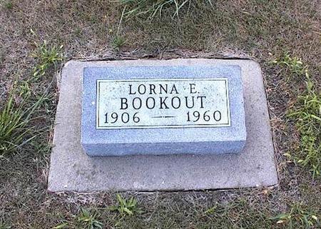 BOOKOUT, LORNA E. - Guthrie County, Iowa | LORNA E. BOOKOUT