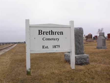 BRETHREN, CEMETERY - Guthrie County, Iowa | CEMETERY BRETHREN
