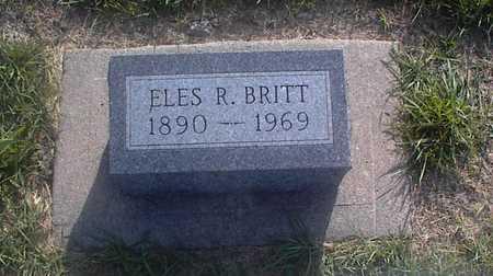 BRITT, ELES R. - Guthrie County, Iowa | ELES R. BRITT