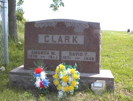 CLARK, DAVID F. - Guthrie County, Iowa | DAVID F. CLARK
