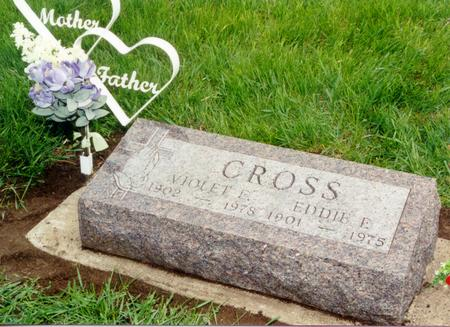 MACDONALD CROSS, VIOLET ESTELLE - Guthrie County, Iowa | VIOLET ESTELLE MACDONALD CROSS