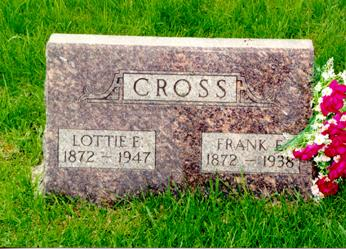 HUDSON CROSS, LOTTIE ESTELLA - Guthrie County, Iowa | LOTTIE ESTELLA HUDSON CROSS