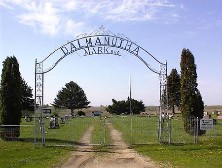 DALMANUTHA, CEMETERY - Guthrie County, Iowa | CEMETERY DALMANUTHA