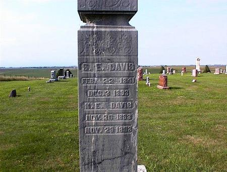 DAVIS, S.E. - Guthrie County, Iowa | S.E. DAVIS