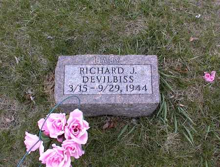 DEVILBISS, RICHARD J - Guthrie County, Iowa | RICHARD J DEVILBISS