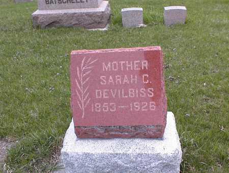 DEVILBISS, SARAH C - Guthrie County, Iowa | SARAH C DEVILBISS