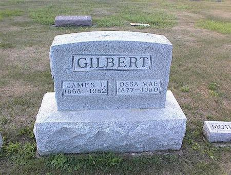 GILBERT, JAMES T. - Guthrie County, Iowa | JAMES T. GILBERT