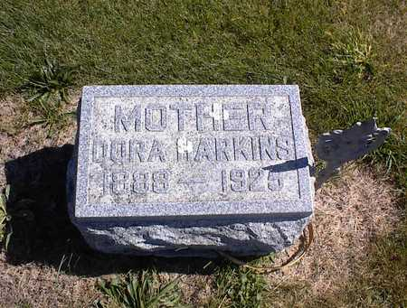 HARKINS, DORA - Guthrie County, Iowa | DORA HARKINS