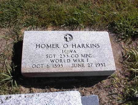HARKINS, HOMER O - Guthrie County, Iowa | HOMER O HARKINS